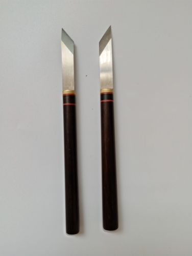 KL rosewood handle pen knife